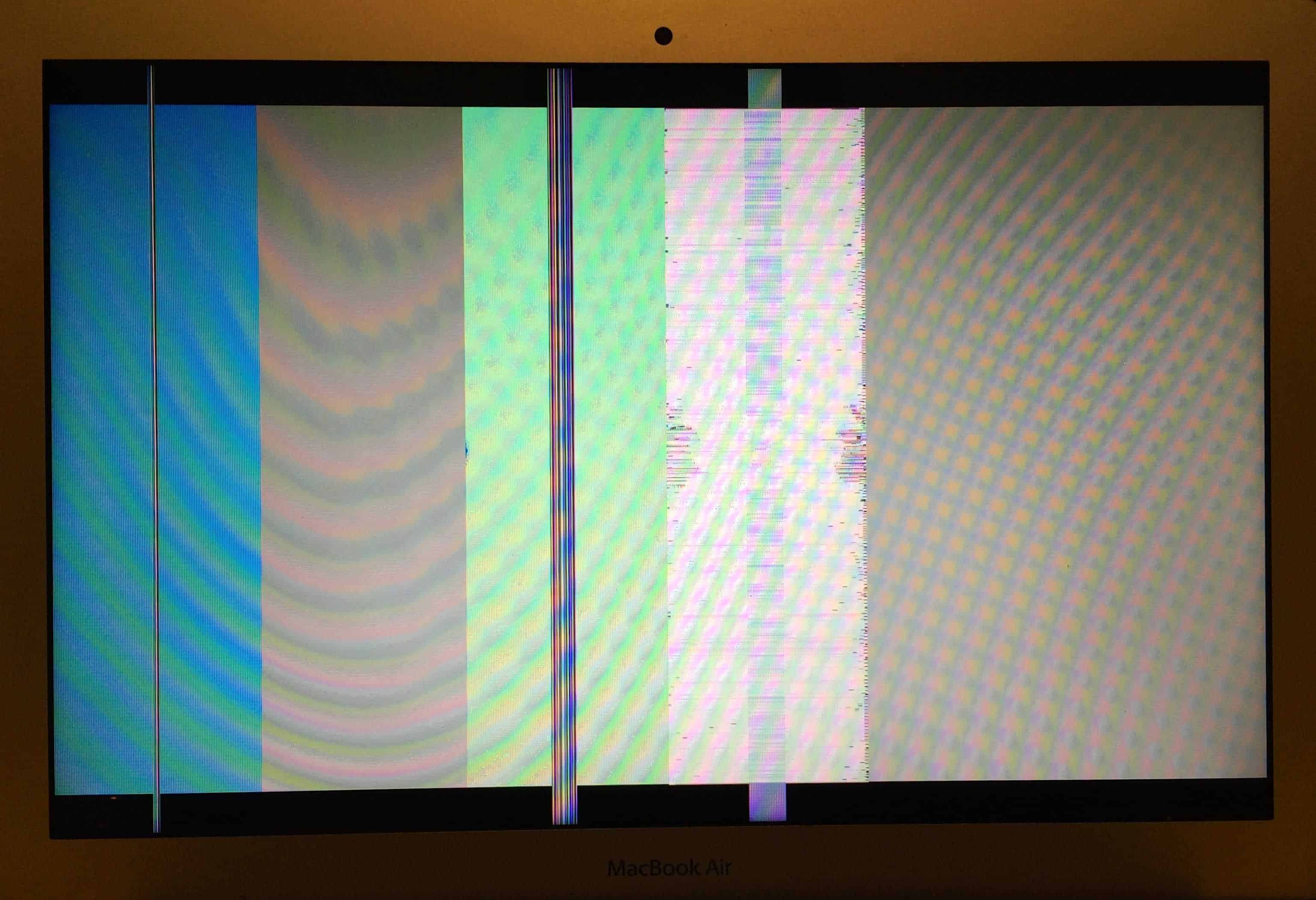 Vertical Lines Problem In Screen Mac Book Pro Early 2011